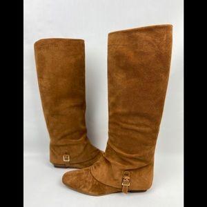 Delman Carmel Tall Suede Boot